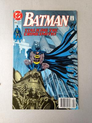 Batman Comic Issue 444 Feb 1990