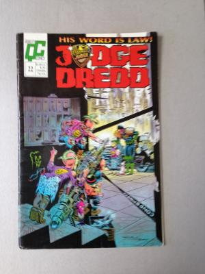 Judge Dredd Issue 22