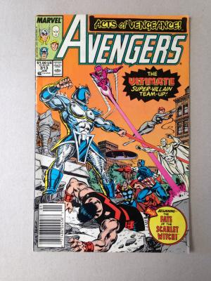 Avengers Comic Issue 313 January 1990