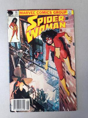 Spider Woman Comic Issue 50 June 1983