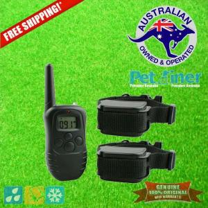 Petrainer PET998DR-2 Remote Dog Training Collar for 2 Dogs