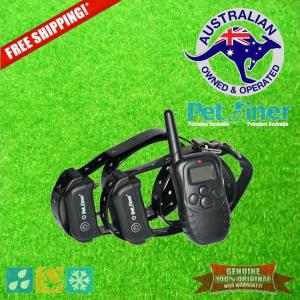 Petrainer PET998DB-2 Remote Dog Training Collar for 2 Dogs
