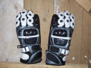 Genuine Leather Motorbike Motorcycle Gloves