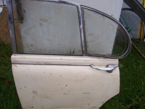 Jaguar S model left rear door