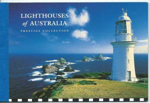 Lighthouses of Aust  Prestige Booklet Cost $9.95