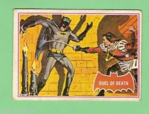 SCANLENS 1966 BATMAN RED BAT CARD 41a