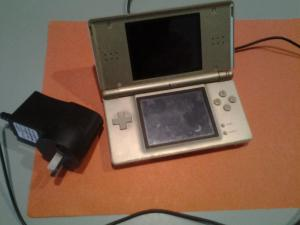 Nintendo DS Lite gold series