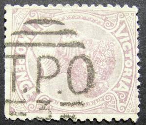 Victoria Postmark.TPO 3..(LotE1011)