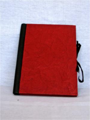 Drawing & Sketch Book: A4 Portrait - Red