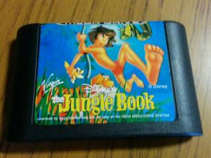 Sega mega drive game jungle book Disney game