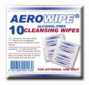 ALCOHOL WIPES X10PK