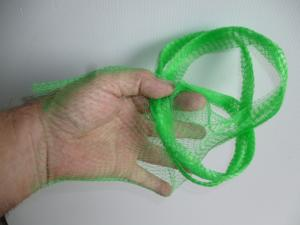5 meters Onion bag mesh / tube GREEN