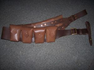 Light horse1903 Pattern Leather  Bandolier