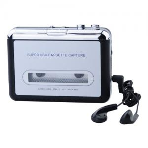 Tapes to MP3 Music USB Cassette Capture Converter Player
