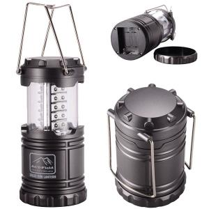 30-LED 90LM Portable Retractable Hand Camping Lantern
