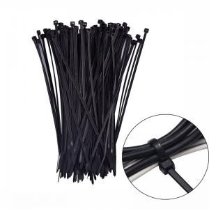 100 Pack Self-locking 4 Inch Nylon Cable