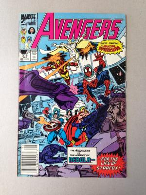 Avengers Comic Issue 316 April 1990