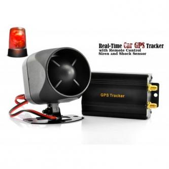 GPS Car Tracker and Car Alarm Real Time Tracking