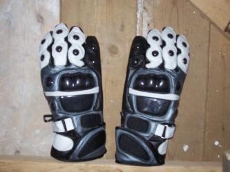 Genuine Leather Motorbike Motorcycle Gloves