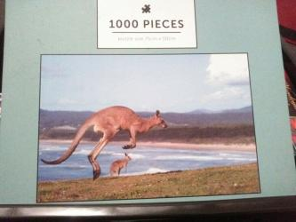 Puzzle Kangaroo and Joey