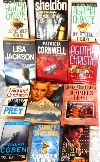 BULK LOT, 12 books - various authors