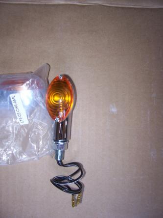 Motorcycle Chrome Turn Signal Light Indicator