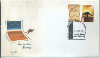 Concession Stamps FDC No 16 of 20 Made 24 March 14