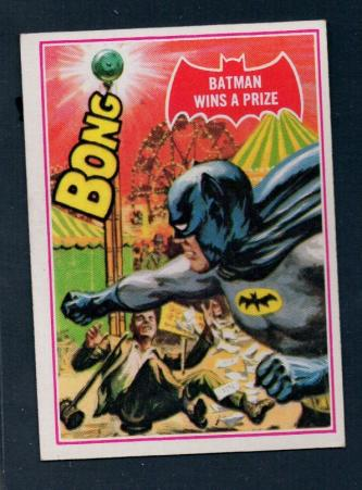 1966 Red Shield Batman Series A Scanlens Card 21A