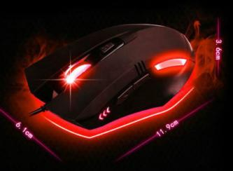 Brand New Optical LED Gaming Mouse DPI: 800/1600/2400/3200