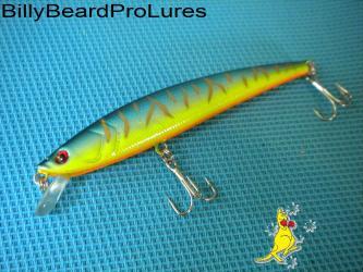 1x 110mm Minnow Bream Barra Bass Flathead Cod Perch Fishing Lure-02