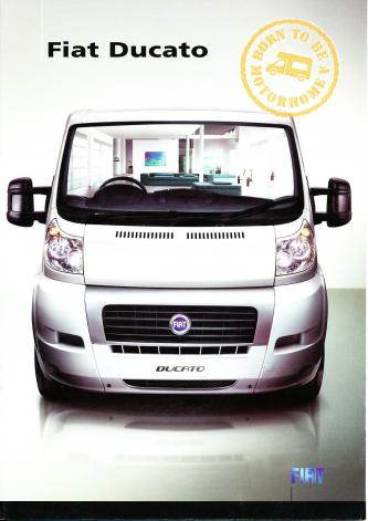 Fiat Ducato 2007 8 Page Double Sided Sales Brochure