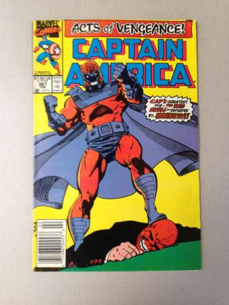 Captain America Acts Of Vengeance Comic Book #367