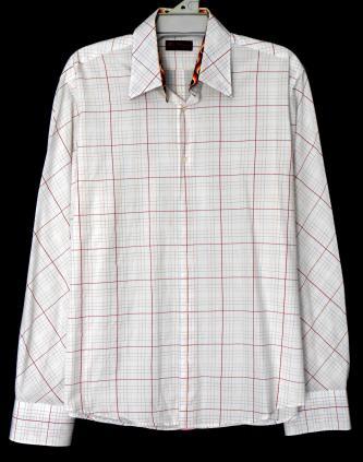 BEN SHERMAN  casual shirt, near new, sz. L