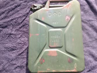 1957 Vintage Military Jerry Can Original