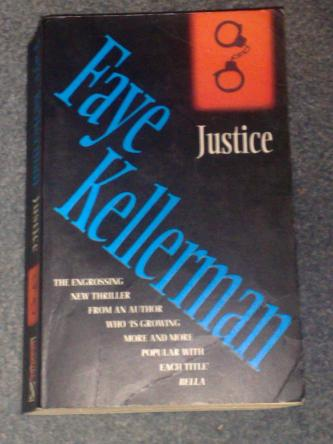 Justice, by Faye Kellerman