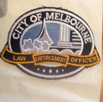 City of Melbourne Law Enforcement Officer Embroidered Patch