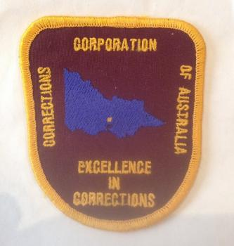 Corrections Corporation of Australia Embroidered Patch