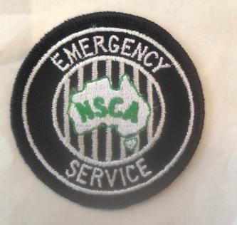 NSCA Emergency Service Embroidered Patch