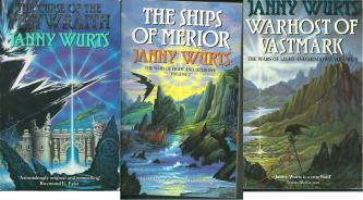 Wars of Light and Shadow 1-3, by Janny Wurts