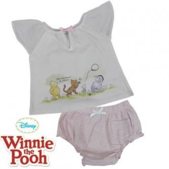 BABY GIRLS Winnie the Pooh 2PCS SET 6-12 mths old