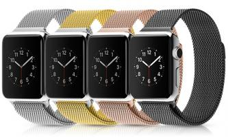 Stainless Steel Milanese Magnetic Loop Watch Band