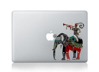 Premium Traditional Elephant Apple MacBook Decal skin 13