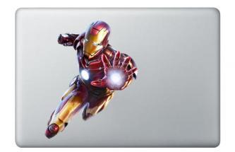 Iron Man Apple MacBook Decal skin Air/Pro13