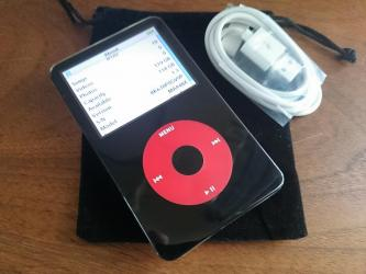 Black iPod Video 128GB Solid State Drive