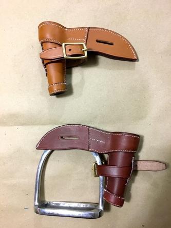 Light horse WWI Leather lance Bucket
