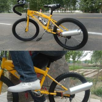 Motorcycle Sound Simulation Exhaust Pipe for Bicycle