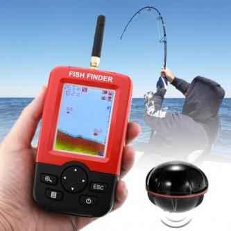 Wireless Fish Finder - Sonar Technology, 36m Depth