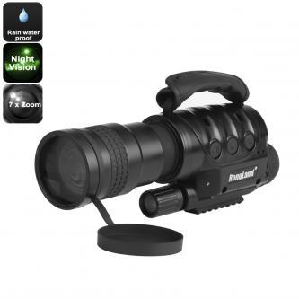Night Vision Monocular - 7x Zoom, 1000m Detection Range