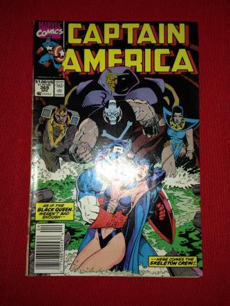 Captain America Issue 369 April 1990