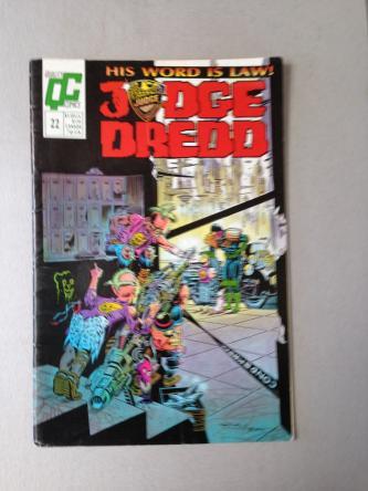 Judge Dredd Issue 22